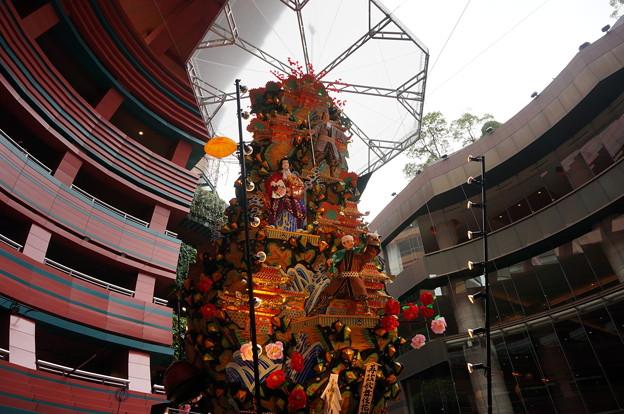 12 2014年 博多祇園山笠 飾り山笠 再茲歌舞伎花轢 (7)