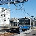 Photos: 東松戸に停車中の北総7300形
