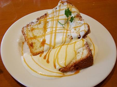 シフォンケーキ・マンゴークリームチーズ