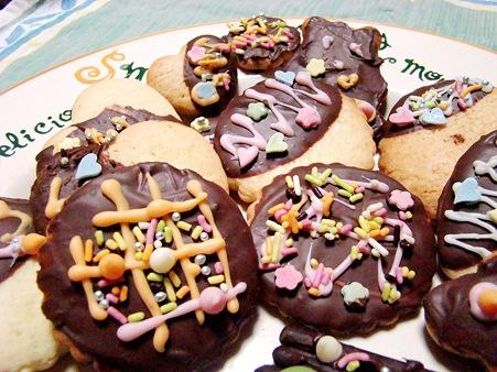 バレンタイン・デ~♪デコチョコクッキー