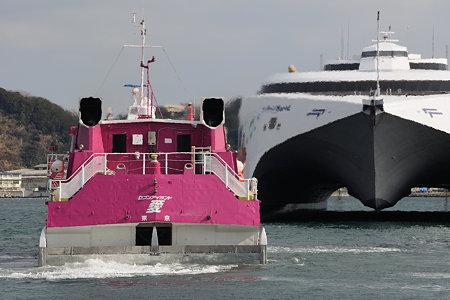 高速船両雄 夢の競演