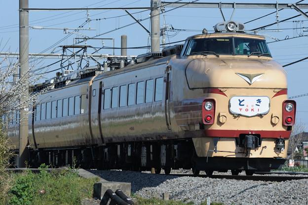 489系特急とき リバイバル運転(6)