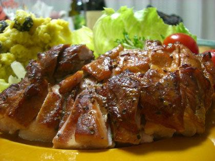 鶏モモ肉の燻製★