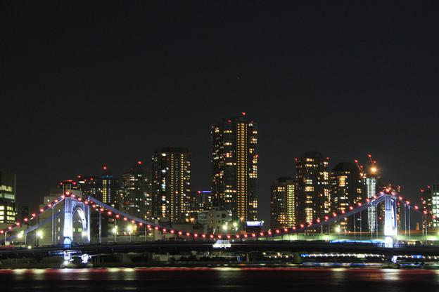 隅田川から見る夜景
