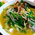 Photos: てんしん中華店 日替ランチ ニラ野菜ラーメン 広島市南区的場町 Tianjin