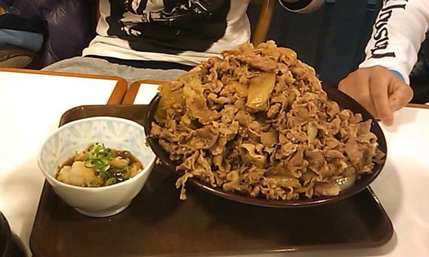おろし ポン酢 牛 丼