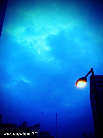 夜と朝のあいだ。