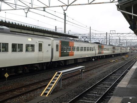 185系特急はまかいじ(小淵沢駅)5