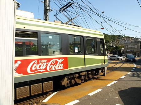 江ノ島→腰越の併用軌道区間8