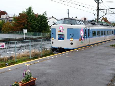 189系(富士吉田駅)1