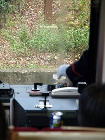 箱根登山電車の車窓(大平台駅→宮ノ下駅)4