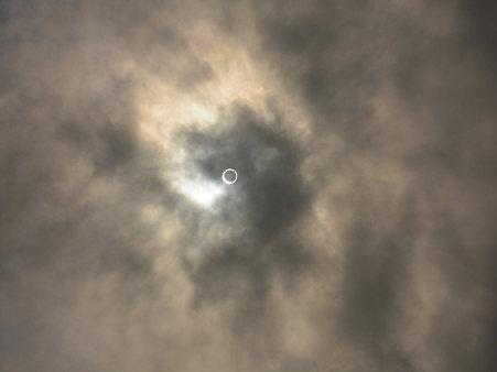金環日食10s