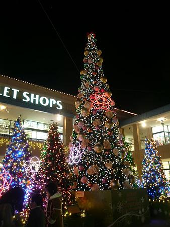 グランベリーモール・クリスマス・2010
