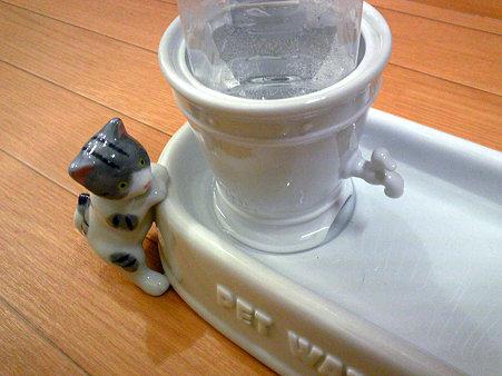 陶器製ペットウォーター