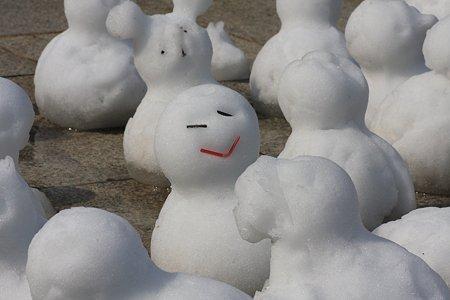 2012.03.03 みなとみらい 安曇野から雪