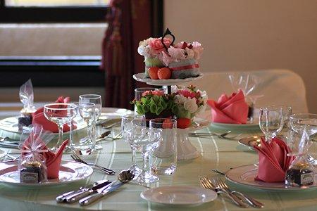 2012.03.03 山手西洋館 外交官の家 wedding table