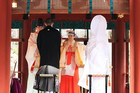 2010.03.05 鎌倉 八幡宮 新郎新婦誓盃の儀