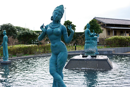 2010.03.16 境川 江ノ島 オリンピック記念噴水池
