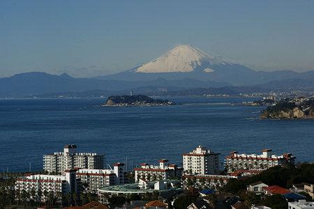 雪景色の富士山!(091219)