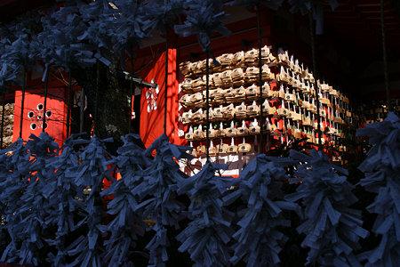 荏柄天神社の合格祈願絵馬!(100110)