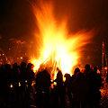 Photos: 左義長火祭り2010