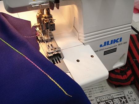 MCS-900.1本針にすれば、環縫いもOK(^^)b