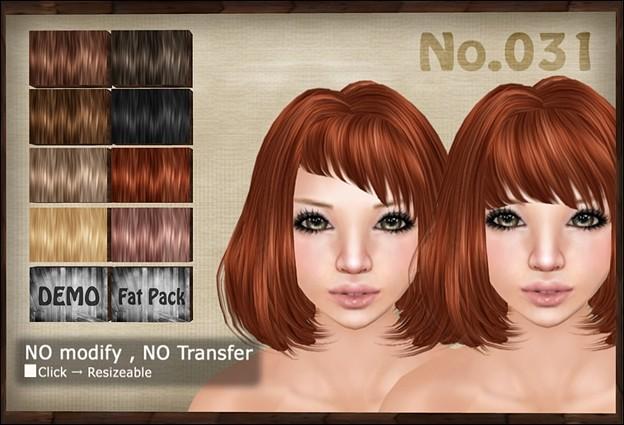 [ Love Soul ] Hair*031*