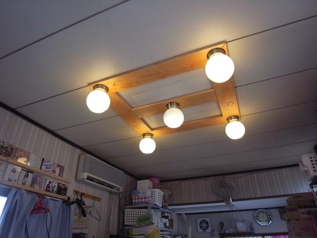 照明ベース板
