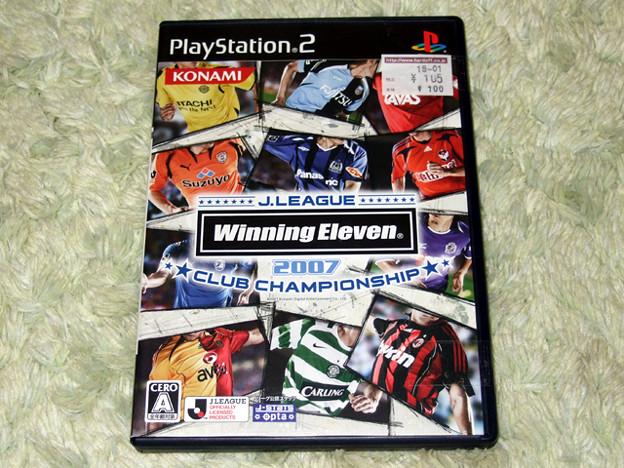 PS2 Jリーグ ウイニング・イレブン2007