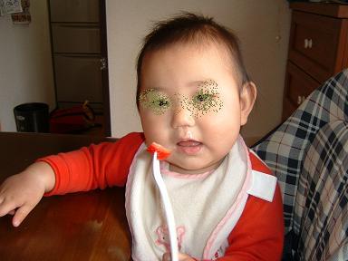 ミウ1歳の頃は・・・男の子みたい