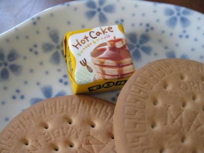 チョコはチロルのホットケーキ