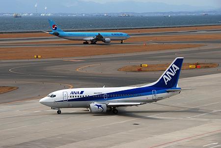 ANAと大韓航空
