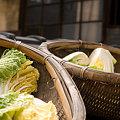 Photos: 屋根の上の白菜