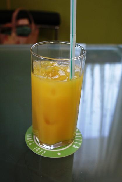 ¥315円の高いオレンジジュース