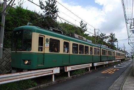 鎌倉高校前駅〜七里ヶ浜駅間