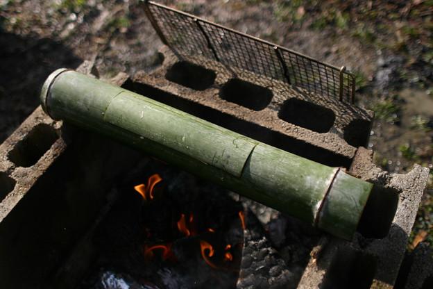 家々プロジェクト0030・竹筒ご飯