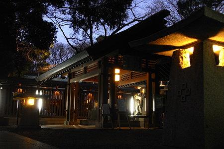 乃木神社手水屋