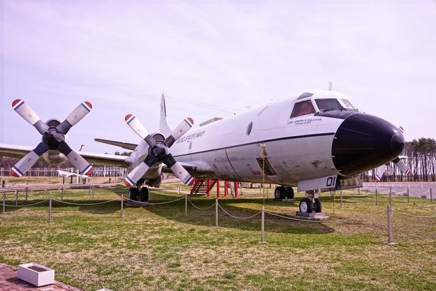 三沢航空科学館・・展示 U.S.NAVY P-3