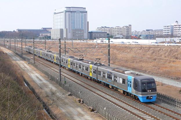 住宅・都市整備公団9100形(北総鉄道北総線)(2010年1月撮影)