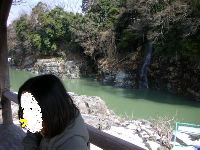 滝もあるよ