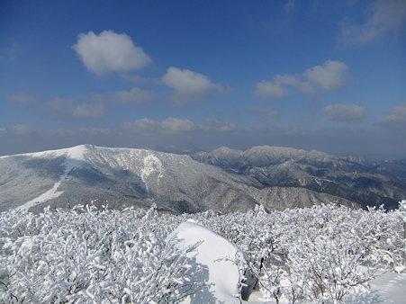 烏帽子山山からの眺望