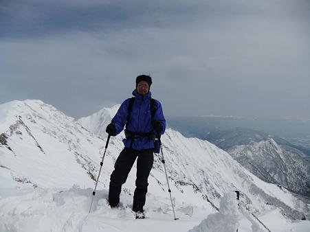 山頂証拠写真