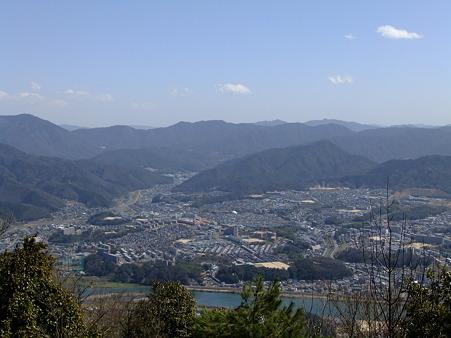 阿武山頂からの眺望