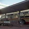 写真: バス停