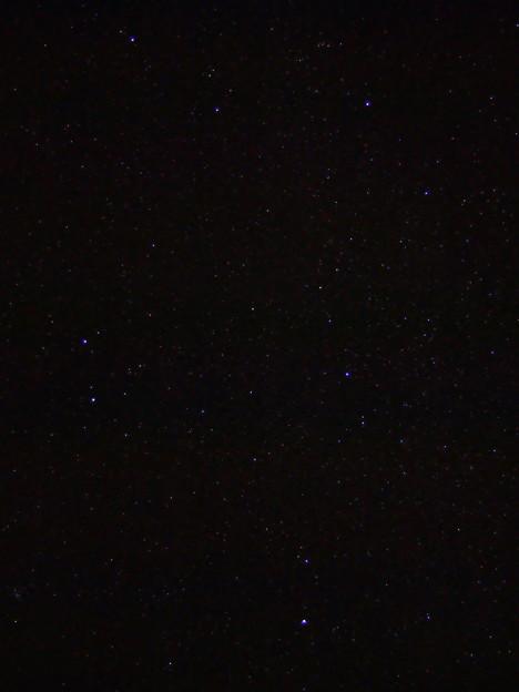布良浜(館山)の星空 ふたご座